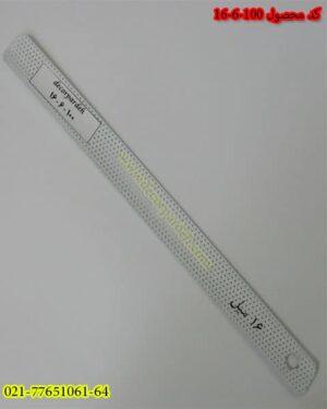 پرده کرکره فلزی کد 100-6-16